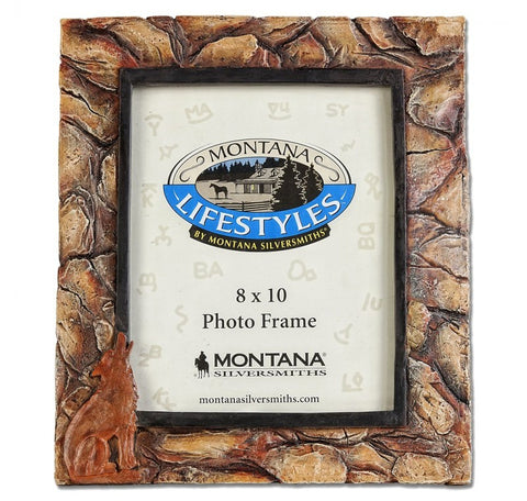 "(MSPH282) Coyote Stone Photo Frame 8"" x 10"""