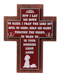(MSSIGN125) Little Girl's Bedtime Prayer Sign