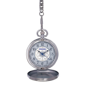 (MSWCHP38-876)  American Flag Pocket Watch