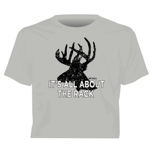 """It's All About the Rack"" Western No Bull T-Shirt"