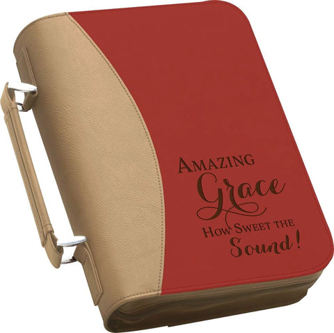 "(PGD-BBX09) ""Amazing Grace, How Sweet the Sound"" Bible Cover"