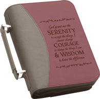 "(PGD-BBX11) ""Sernity Prayer"" Bible Cover"