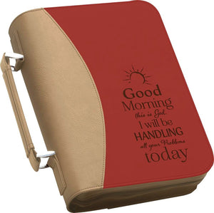 "(PGD-BBX13) ""Good Morning, This is God"" Bible Cover"
