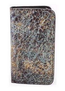 Turquoise Brown iPhone 5/5s Phone Case
