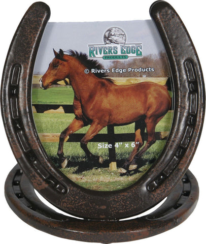 (RE1108) Western Horseshoe Picture Frame