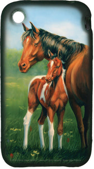 (RE1817) Mare & Foal iPhone 3G 3Gs Cover