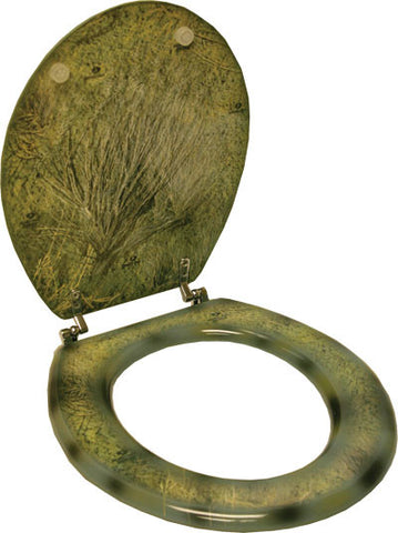 (RE752CO) Mossy Oak Camo Standard Toilet Seat