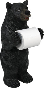 (RE802) Bear Standing Toilet Paper Holder
