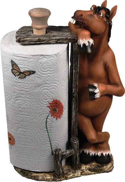 (RE841) Horse Paper Towel Holder