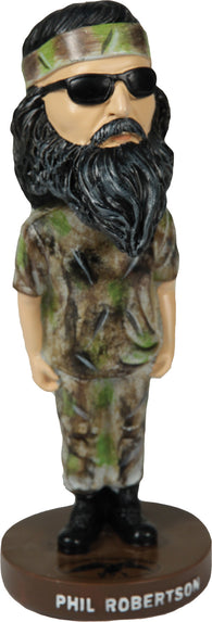 "(REBHPHIL) ""Phil"" Duck Commander Bobble Head"