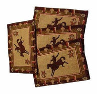 Rk11027 Cowboy Western Placemat