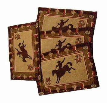 "(RK11027) ""Cowboy"" Western Placemat"