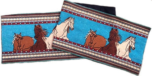 """Stampede"" Western Jacquard Table Runner"