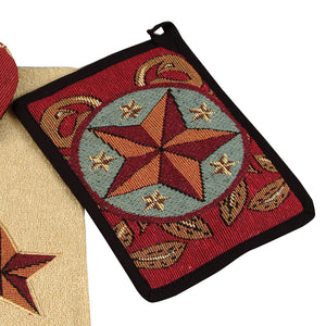 "(RK16029) ""Western Star"" Pot Holder"