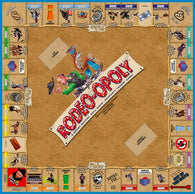 Rodeo-opoly Western Board Game