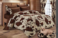 Chocolate Rodeo Print Sheet Sets