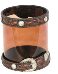 (RWMA7052) Western Belt Candle Holder