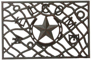 (RWRT5179) Western Star Metal Welcome Door Mat