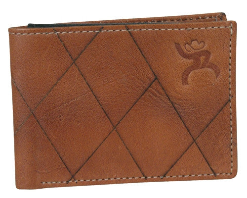 (TD1533161W5) Hooey Roughy Signature Tan B-Fold Wallet