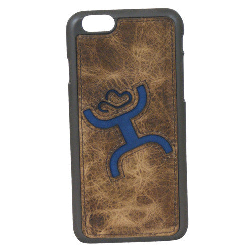 (TD1547480C4) Hooey Signature Brown & Blue iPhone 6/6S Snap-On Case