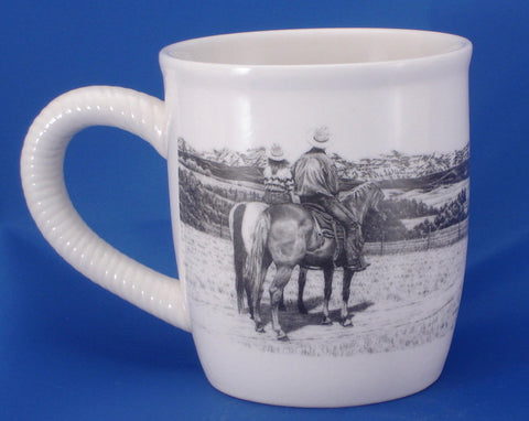 "(TG99-8) ""Gateway to Heaven"" Western Ceramic Mug"