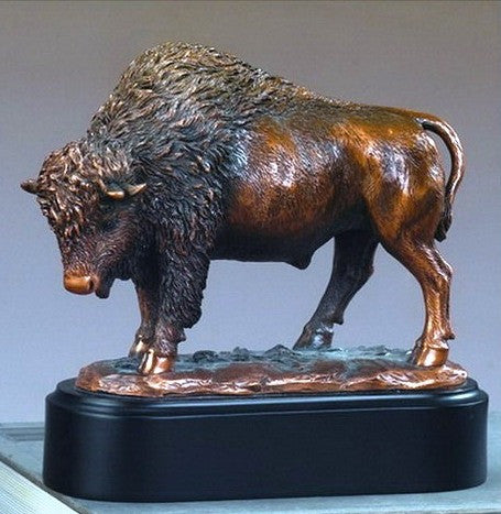 (TN53202) Western Buffalo Sculpture