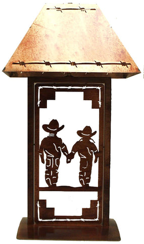 Ts041 255 western table lamp brother sister wild west living ts041 255 western table lamp brother sister aloadofball Images
