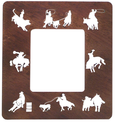 (TS050-257) Western Mirror - Rodeo Events