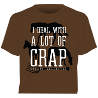 """Crap"" Horses Unlimited Western T-Shirt"