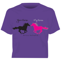 """Your Horse - My Horse"" Horses Unlimited Western T-Shirt"