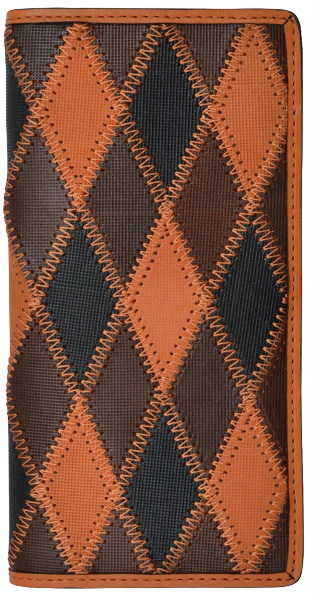 Multicolored Western Rodeo Wallet
