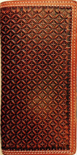 Load image into Gallery viewer, (WFAC1173) Western Tan Rodeo Wallet/Checkbook Cover