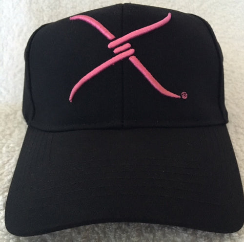 (WFAXC8) Twisted-X Flex Fit Ball Cap - Pink