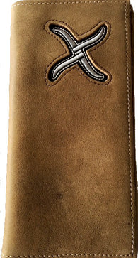(WFAXRC-4) Twisted-X Soft Distressed Brown Rodeo Wallet