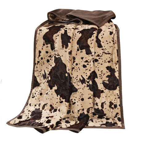 """Caldwell"" Western Hair-on-Hide Throw"