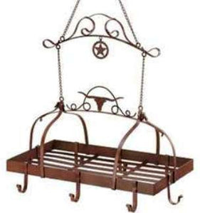 (WSM-D1159) Wild Western Kitchen Rack