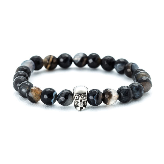 Camouflage Stone with Skull - Pearl in Oyster - Souk Madinat Jumeirah, Dubai