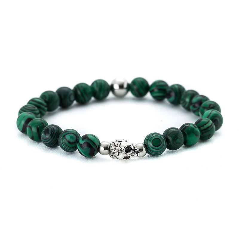 Malachite with Double Skull - Pearl in Oyster - Souk Madinat Jumeirah, Dubai
