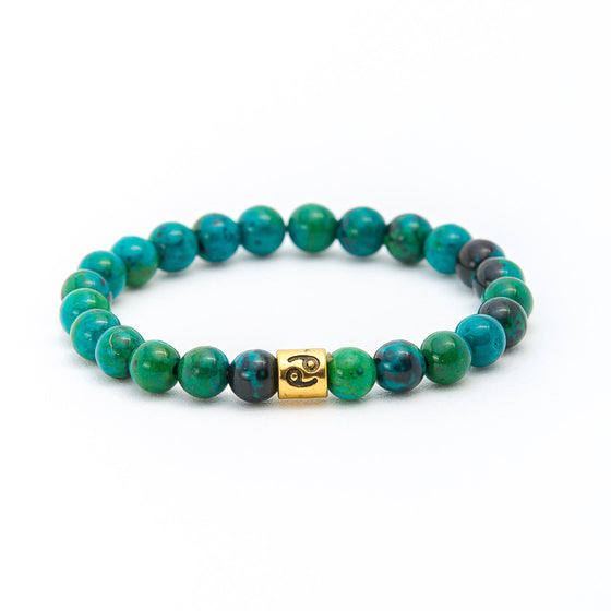 Bali Turquoise with Yoga Symbol - Pearl in Oyster - Souk Madinat Jumeirah, Dubai
