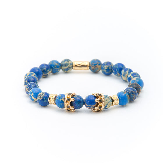 Blue Lapis with Gold Crown - Pearl in Oyster - Souk Madinat Jumeirah, Dubai