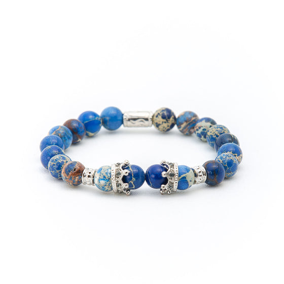 Blue Lapis with Silver Crown - Pearl in Oyster - Souk Madinat Jumeirah, Dubai