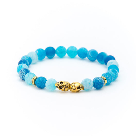 Aquamarine with Double Skull - Pearl in Oyster - Souk Madinat Jumeirah, Dubai