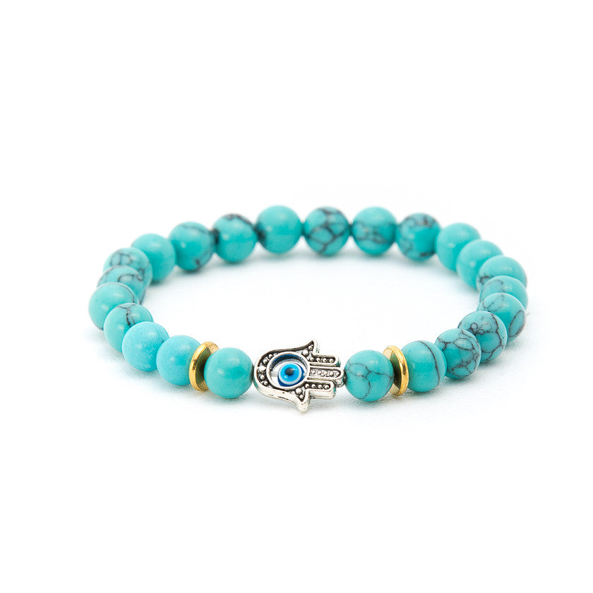 Turquoise with Hand of Fatima - Pearl in Oyster - Souk Madinat Jumeirah, Dubai