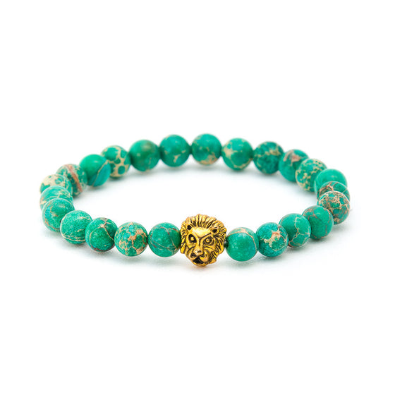 Green Turquoise with Lion - Pearl in Oyster - Souk Madinat Jumeirah, Dubai