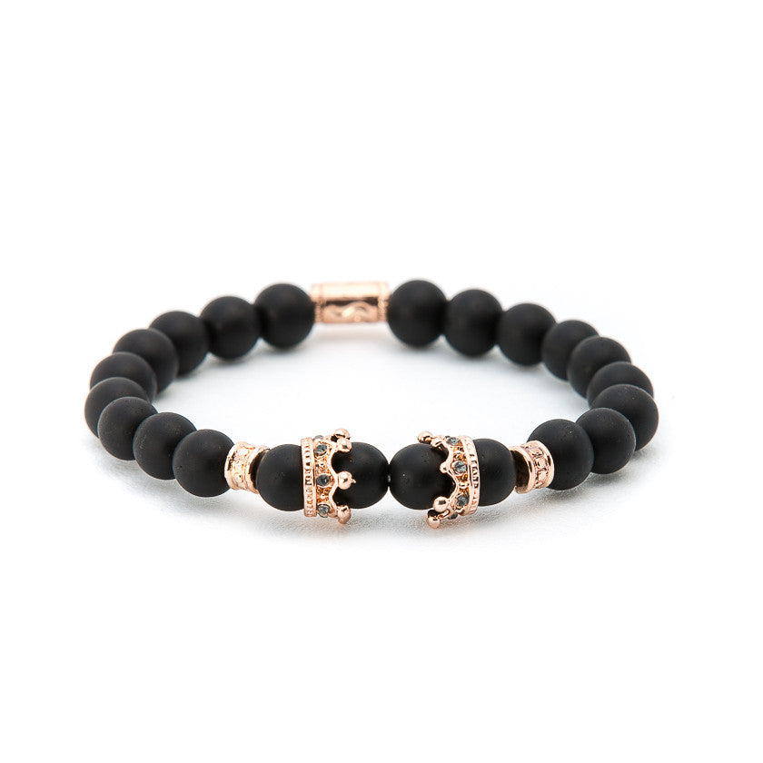 Matte Black Onyx with Gold Crown - Pearl in Oyster - Souk Madinat Jumeirah, Dubai