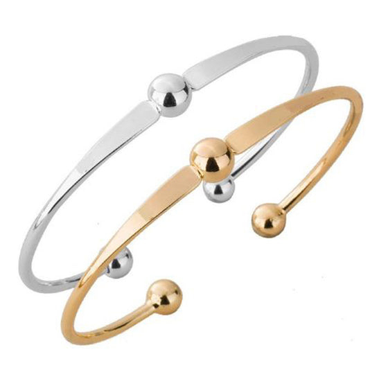 Set of Two Adjustable Three Ball Bangles - Pearl in Oyster - Souk Madinat Jumeirah, Dubai