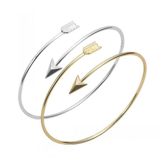 Set of Two Adjustable Arrow Bangles - Pearl in Oyster - Souk Madinat Jumeirah, Dubai