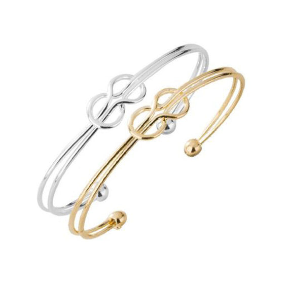 Set of Two Adjustable Double Knot Bangles - Pearl in Oyster - Souk Madinat Jumeirah, Dubai