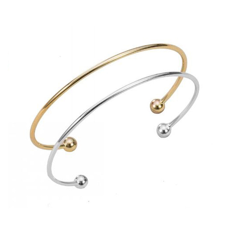 Set of Two Adjustable Classic Bangles - Pearl in Oyster - Souk Madinat Jumeirah, Dubai