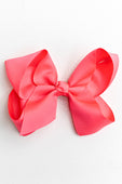PINK BOW WITH CLIP